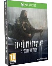 FINAL FANTASY XV SPECIAL EDITION XBOX ONE NEW SEALED PAL ENGLISH STEELBOOK