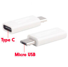 Type C Female to Micro USB Male Adapter Charge Sync Connector Smartphone Tablet