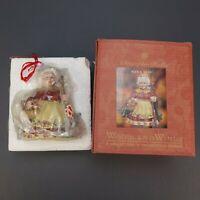 Vintage Christopher Radko NANA LEAF Ornament Enchanting Friends Collection'99