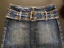 Authentiek Guess Jeans Denim Minirok (Maat S)
