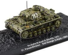 1 / 72D / Fundido Alemán II Guerra Mundial Tanque Pz.kpfw.iii Panzer Ausf.g