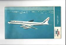 "United Airlines Air Atlas 1964 'World's Largest Jet Fleet"""