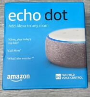 Echo Dot 3rd Gen - Smart speaker with Alexa - Plum - BRAND NEW