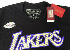 Mitchell & Ness Men's The Finals 2009 Lakers Black Short Sleeve Tee Shirt Large