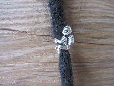 10 Tibetan Silver Angel Boy Dreadlock Dread Braid Beads Cuff Clips 6mm Hole