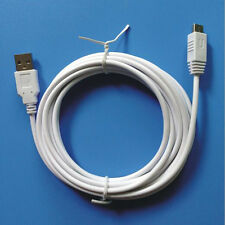 3M USB Charging Cable For Nintendo Wii U Controller Charger Power Cord Cable UK