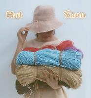 700m/lot Raffia Straw Organic Crocheting Yarn for Summer Bag Baskets Hat