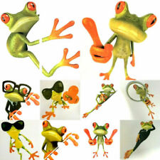 10pcs Car decal sticker transfer Large FUNNY FROGS mixed designs NEW