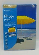 "WHSmith Premium Photo Paper 25 Sheets Gloss 7x5"" RRP£9.99"