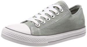 Dockers By Gerli 36UR201-710850 Canvas Women's Sneakers Low Shoes Khaki