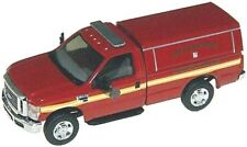 HO RIVER POINT STATION 538-5097.79 Ford F350 Fire Department w/ Cap : 1/87 Truck