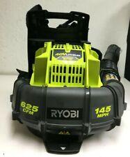 Ryobi Ry40404 40V Brushless 625 Cfm Backpack Leaf Blower Ln