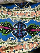 Close-Out Designer Runway 100% Silk Jersey Fabric - Pucci Inspired -Sold by yard