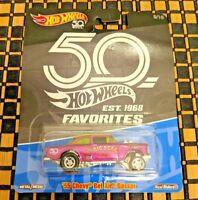 2018 Hot Wheels 55 Chevy Bel Air Gasser Big Deal 50th Anniversary Favorites
