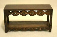 Miniature Table Dollhouse 1:12 Wooden Desk