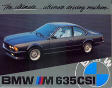 """BMW 635 csi 24x36""""/Ultimate car poster/Print"""