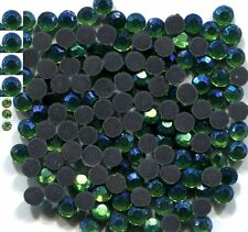 720 Rhinestones 4mm Crystals AB PERIDOT  Hot Fix   5 Gross