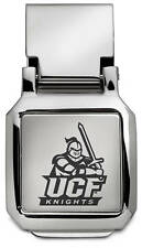 UCF University of Central Florida Knights ENGRAVED SILVER SPRING MONEY CLIP