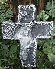 NEW plaster concrete plastic  Jesus cross mold