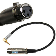 3.5mm to XLR Female Cable Cord for Behringer XM8500 Dynamic Cardioid Microphone