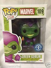 Funko ¡ POP! Figura Disney Marvel Verde Goblin Exclusivo Juguetes Metro