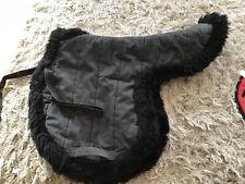 Black Nummed Wool XL Size Numnah