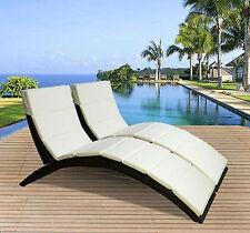 Aluminium Foldable Garden & Patio Suns/Garden Loungers