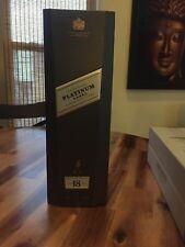 Johnnie Walker Platinum Label - Empty Gift Box