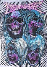 Escape The Fate Zombie Shirt XL Hardcore Heavy Metal Metalcore Epitaph