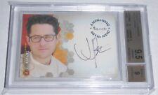 2002 Alias Season 1 Autographs J.J. ABRAMS Signature BGS 9.5 GEM MINT Card Auto