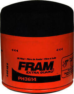 New FRAM PH3614 Extra Guard Spin-On Engine Oil Filter - Free Shipping