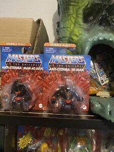 masters of the universe eternia minis Anti He Man Anti Man At Arms