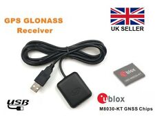 BN-82 USB GPS Receiver with stick down base, Ublox 8, Win 7/8/10, Linux, RasPi