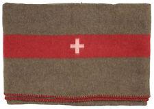Schweizer Armeedecke Wolldecke Schlafdecke Pferdedecke 200 x 150