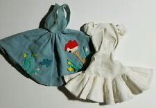 Vintage Barbie Doll 1960s Friday Night Date #979 Blue Jumper & White Underdress
