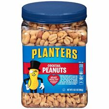 Planters Salted Cocktail Peanuts, Resealable Jar, 35 Ounce (Pack of 1) Cocktail
