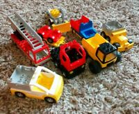 LEGO DUPLO ASSORTED VEHICLES & TRAILERS CONSTRUCTION FIRE ENGINE ASSORTED AGES