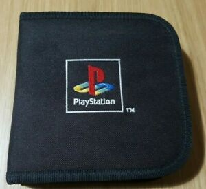 Official Sony PS1 PS2 Playstation Soft Carry Case Game Disc CD Holder Wallet