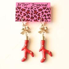 New Betsey Johnson Enamel Drop Dangle Earrings Gift Fashion Women Party Jewelry