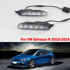 DRL LED Daytime Running Light Drive Lamp Turn Signal for VW Scirocco R 10-14