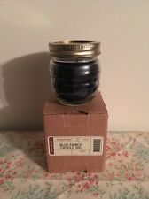 Longaberger Blue Ribbon Candle Jar - Berry - Nib