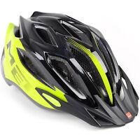 MET Crossover Bike Helmet // Safety Yellow/Black // Medium