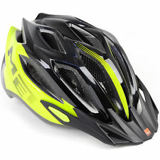 MET Crossover Bike Helmet // Safety Yellow/Black // Medium