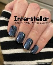 Color Street INTERSTELLAR (Blue Black Galaxy Cosmic Shimmer Fall Winter)