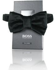 BOSS Adapté samt-fliege t-bow taille unique avec fermeture à crochet 100% BW
