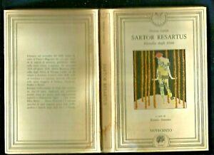 Thomas Carlyle Sartor resartus Filosofia degli abiti Usato Novecento Palermo1985