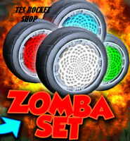 [XBOX ONE] ALL ZOMBA WHEELS (PAINTED ZOMBAS) for Rocket League! TRUSTED!