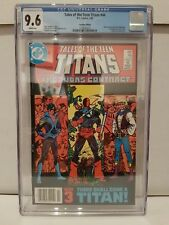 Tales of the Teen Titans #44 (1984) $0.95 Canadian Variant,1st Nightwing,CGC 9.6