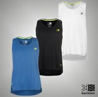 Mens Branded Karrimor Breathable X Lite Running Vest Crew Top Size S M L XL