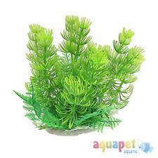 Aquarium Fish Tank Realistic Plant 14.5cm x 15.5cm Pack of 2